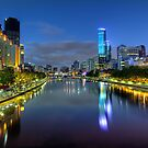 Southbank  Melbourne  Australia  by William Bullimore