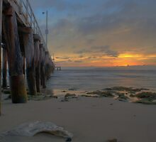 Point Lonsdale Pier Sunrise - HDR by Scott Sheehan