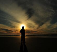 SILHOUETTED MAN.. by RoseMarie747