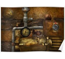 Steampunk - The device Poster