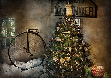 Bike - I wanna bike for Christmas  by Mike  Savad