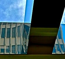 Architectural Reflection, Downtown San Francisco, California by Scott Johnson