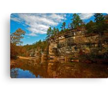 Buffalo National River in Autumn Canvas Print