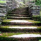 Cemetery Steps by Bobbie J. Bonebrake