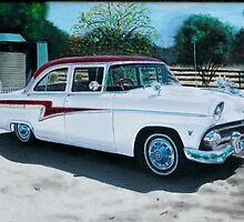 1959 Ford Customline by Ivansart