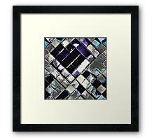 Marijuana Tetris 001 Framed Print