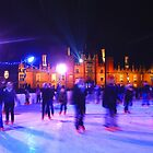 Skating - Hampton Court Palace  by Colin J Williams Photography