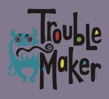 Trouble Maker born bad 2 Kids Clothes
