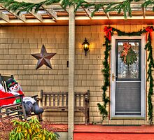 Frosty on the Porch by Monica M. Scanlan