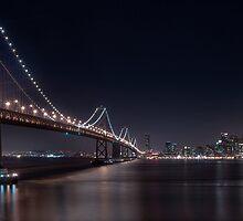 The San Francisco Bay Bridge by MattGranz