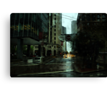 San Francisco Rain Canvas Print