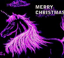 Christmas Unicorn by Dawn B Davies-McIninch