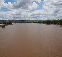 The Flooded Murrumbidgee River. by shortshooter-Al