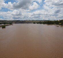 The Flooded Murrumbidgee River. by shortshooter-Al