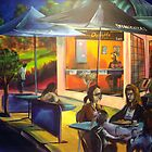 Cafe Delights Memorial Drive Eumundi by robert (bob) gammage