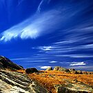 Jetstreams over Dog Rocks - Geelong by Hans Kawitzki