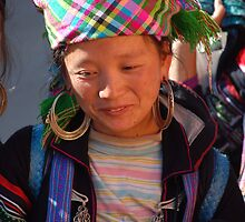 Shy Smile - Sapa -Vietnam by Loachlover