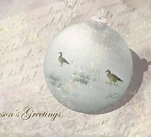 Victorian Christmas Greetings - Season's Greetings  by steppeland