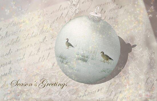 Victorian Christmas Greetings - Season's Greetings  by steppeland
