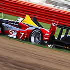 Allan Mcnish - Audi R15 TDI - Silverstone 1000km 2010 by MSport-Images