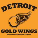 Detriot Gold Wings Home by SevenHundred