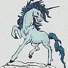 Blue Unicorn by Walter Colvin