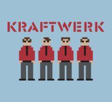 Kraftwerk 8-bit Kids Clothes