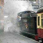 The 14:15 to Leicester at Loughborough, UK by David A. L. Davies