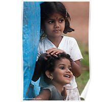 cute kids Poster