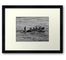 Right Place, Right Time Framed Print
