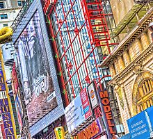 On Broadway - Theater District by jkorth
