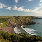 Pembrokeshire Coast by photontrappist