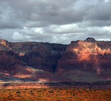 Vermillion Cliffs by Gregory Collins