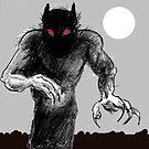 shadow wolf by mattycarpets