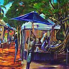 Sunshine Hammocks - Eumundi Markets by robert (bob) gammage