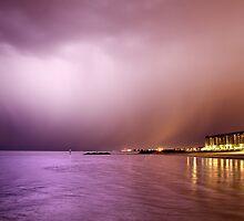Storm from Glenelg Jetty by pablosvista2
