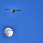 Fly Me To The Moon And Let Me Dance Among The Stars by Sandra Moore