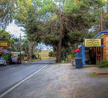 Main Street - Kanmantoo, The Adelaide Hills, South Australia by Mark Richards
