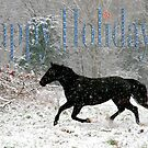 Happy Holidays Card by GrayHorseDesign