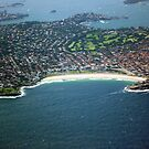 Bondi Beach from the Air by TonyCrehan