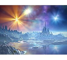 In Search of the Ice Kingdom Photographic Print