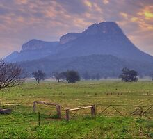 Night Fall - Capertee Valley Central NSW, Australia - The HDR Experience by Philip Johnson