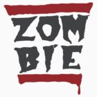 Run Zombies! On White by monkdxiii