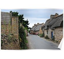 Thatched cottage in Brittany 3 Poster