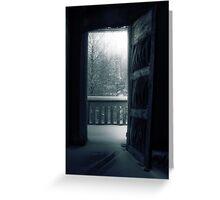 8.12.2010: Dark Winter Day Greeting Card