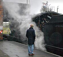 Nostalgia at Loughborough, UK. by David A. L. Davies