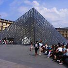 LOUVRE PAYRAMID by gracestout2007