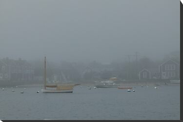 Foggy Nantucket by Trish Meyer