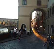 Looking Back on Ponte Vecchio by SabsV