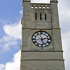 The Clock Tower of Shanklin United Reformed Church by Rod Johnson